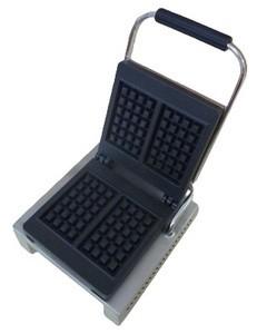 Waffeleisen, für 2 Brüssler Waffeln, je 17 x 10 cm, 230 V, 1500 W