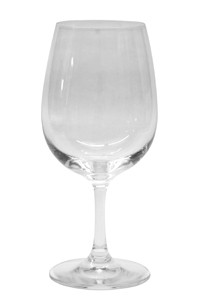 Wasserglas mit Stiel