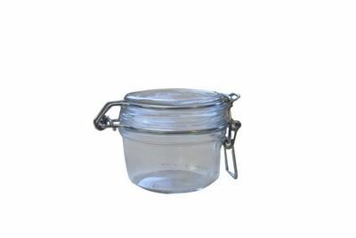 Einkoch- bzw. Rexglas mit Deckel, rund, 125 ml, Fingerfood