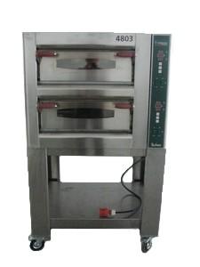 Pizzaofen, Cuppone, 2 Ebenen, 8 Pizzen, 400 V, 8500 W, 12 A, 16 CEE