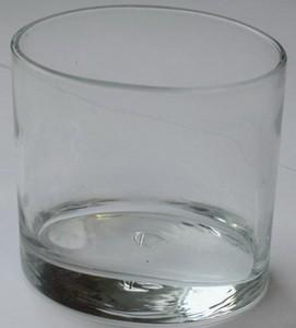 Dessertschale, Glas, Ellipse oval, h: 6,5 cm, 100 ml, Fingerfood