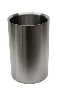 Weinkühler, Edelstahl, doppelwandig, h: 20 cm, ø Innen 11 cm
