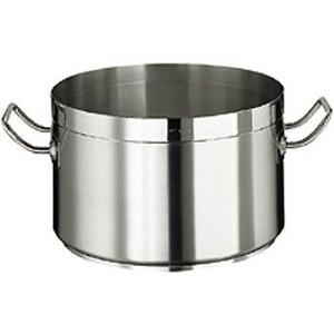 Kochtopf, CrNi- Stahl, ca. 15 lt., ohne Deckel
