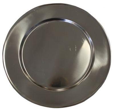 Platzteller, Ø 29cm, Silber