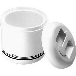 Eiswürfelbehälter, Kunststoff, 4 lt, Ø 23 cm, Höhe 25 cm