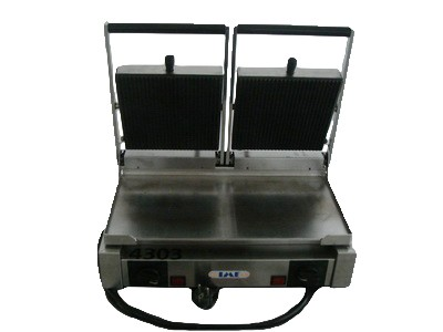 Doppelplatten- Griller