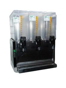 Saftspender, 3- fach, je 12 lt., gekühlt, 230 V, 300 W