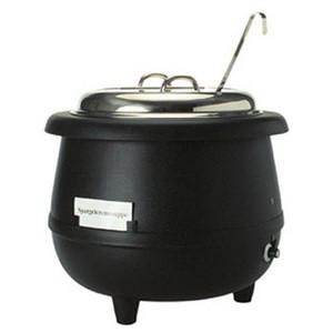 Suppen- Theken- Kessel, 10 lt., 230 V, 500 W, samt Schöpfer