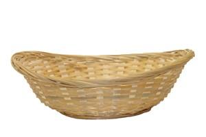Brotkörbchen, geflochten, oval, Ø 20 cm