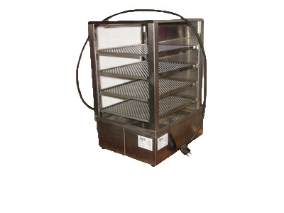 Germknödel - Garer, 4 Etagen, Wasserbad, 230 V, 1 kW