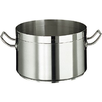 Kochtopf, CrNi- Stahl, ca. 30 lt., ohne Deckel
