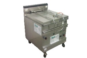 Gas- Kippbratpfanne 80 lt., 15 kW Brenner, Steuerstrom: 230 V, 200 W