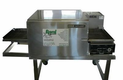 Pizza- Durchlaufofen, 400 V, 10 kW, 15 A, 16 CEE