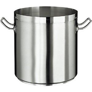 Kochtopf, CrNi-Stahl, induktionsgeeignet, ca. 20 lt., ohne Deckel