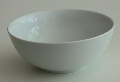Schale rund, Porzellan, Ø 15cm, 530 ml, h: 6,5 cm, Isabell, Fingerfood