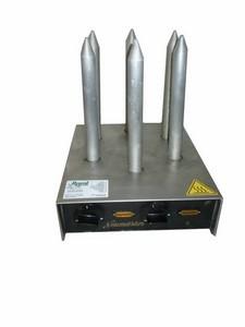 Griller für Hot- Dog- Weckerl, 6 Spieße, 230 V, 1 kW