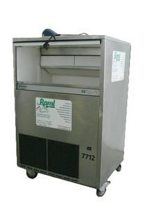 Eiswürfelerzeuger, 90 kg / Tag (= 180 lt.), 55 kg Vorrat, 230 V, 1 kW