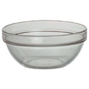 Salatschüssel, Glas, klar, Ø 23 cm, stapelbar