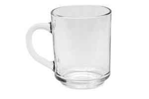 Punsch- bzw. Teehäferl, Glas, 0,25 lt., ohne Füllstrich