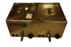 Würstelwärmer, Tischgerät, 2 Kammern, 230 V, 1700 W