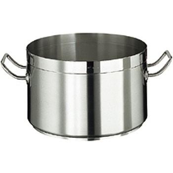 Kochtopf, CrNi-Stahl, induktionsgeeignet, ca. 40 lt., ohne Deckel