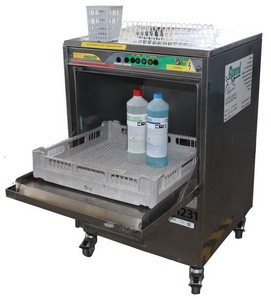 Geschirrspüler, samt Unterbau und integrierter Abwasserpumpe