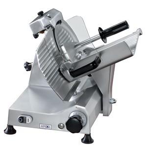 Aufschnitt- Maschine, Ø 25 cm Messer, 230 V, ca. 400 W