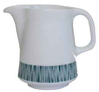 Milchkännchen, Porzellan, 0,16 lt., Lilien