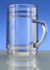 Weinglas, Kunststoff, bruchfest, 1/4 lt., Spritzer, mit Endreinigung