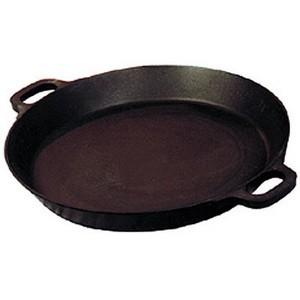 Riesenpfanne, Ø 80 cm, h: 10 cm (für Gas-Hockerkocher)