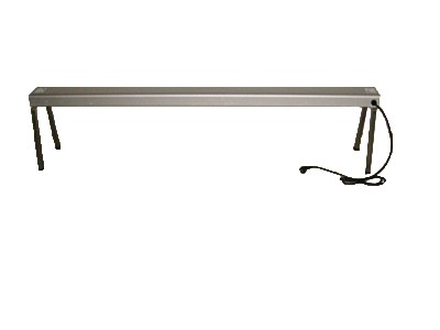 Wärmebrücke, Infrarot, 180 x 21 x 25 cm, 230 V, 1700 W, Tischaufsatz